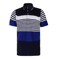 polo ralph lauren men s engineered stripe polo deauville navy and sd royal