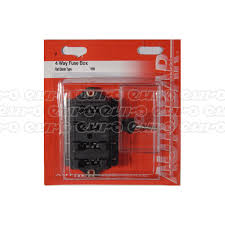 universal fuse boxes fuses relays euro car parts click to enlarge fuse box cover 4 way