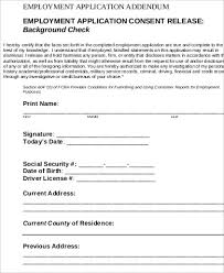 Background Check Authorization Form Enchanting 44 Background Check Consent Form Samples Sample Templates