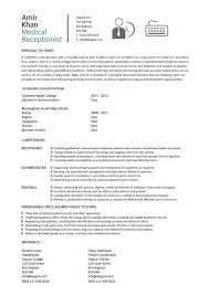 Medical Front Office Resume - Best Resume Gallery