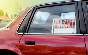 For Sale Sign On Car Tips On Selling Your Car Travelers Insurance