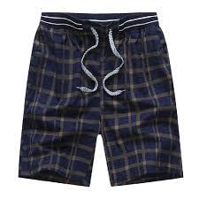 New Shorts Design Wilkemp New Shorts Men Summer Lattice Beach Quick Dry Shorts