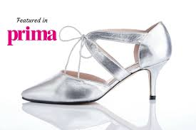 silver wide fit shoes