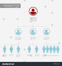 Flat Organizational Chart Template Corporate Organization Chart Template Business People