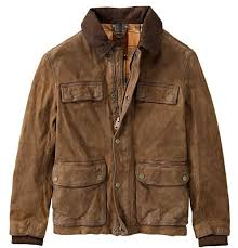 details about nwt timberland men s tenon leather field jacket in cocoa xl 998 last one