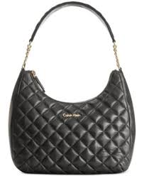 Calvin Klein Quilted Chain Backpack - Handbags & Accessories - Macy's & Calvin Klein Quilted Leather Hobo Adamdwight.com