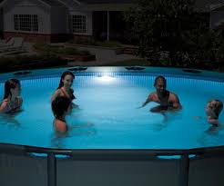 Intex Above Ground LED Magnetic Swimming Pool Light Pool Reviews