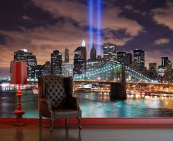 >20 best ideas of new york 3d wall art self adhesive new york lights decorating photo wall mural regarding most popular new york 3d wall