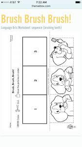 Kindergarten How To Brush Your Teeth Sequencing | Vpk Ideas ...