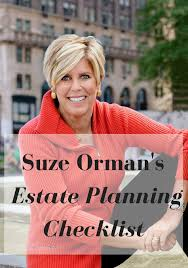 Estate Planning Advice - How to Make a Will - Suze Orman Advice