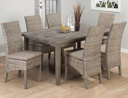 kitchen beautiful white and grey dining table chairs dining table from the beauti of rattan