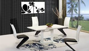table b gumtree glass top seats classic sets white dining gloss oval black haversham bramante oak