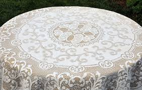 round lace tablecloths with 60 inch