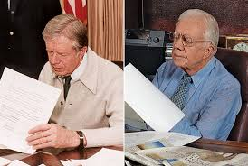 Jimmy carter oval office Layout President Jimmy Carter 27 Years Apart In The Oval Office In 1979 And At The Carter Center In 2006 New York Magazine Why Jimmy Carter Has No Interest In Reining Himself In New York