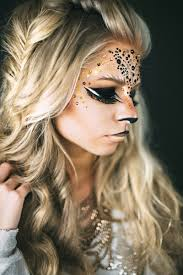 Cat Hair Style meow lion and catinspired makeup for halloween costumes diy and 2512 by stevesalt.us