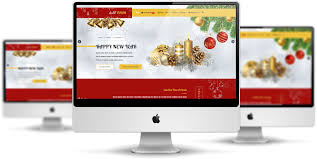 Free Christmas Website Templates Et Taper Free Responsive Christmas Candle Website Template