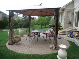 gazebo furniture ideas. Outdoor Canopy Gazebo Landscape Design And Gazebos On Pinterest Landscaping Ideas Home Decor Decorating Interiors House Furniture
