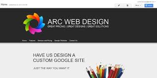 Google Site Templates Change The Banner Arc Templates Google Sites Templates