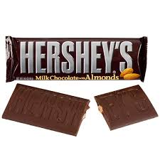 hershey almond candy bars. Simple Almond Hersheyu0027s Milk Chocolate With Almonds Candy Bars 36Piece Box   CandyWarehousecom Intended Hershey Almond Bars G