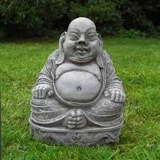 buddha garden statue. FAT BELLY TRADITIONAL BUDDHA BUDDAH Stone Garden Ornament Statue Koi Buddha U