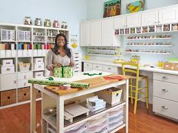 office craft ideas. Home Office Craft Room Design Ideas And Sewing Storage Organization Hgtv Photos O