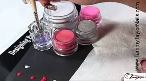 ♡ Tammy Taylor - How To Do a 3D Nail Art