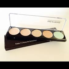make up for ever 5 camouflage cream palette no 1