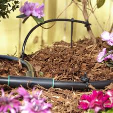 drip irrigation tubing and emitter