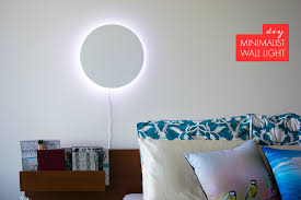 diy wall lighting. DIY Wall Light Diy Lighting