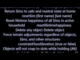 the sims 3 cheats cheat codes xbox 360 ps3 pc youtube