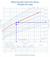 Infant Boy Growth Chart Weight How To Measure A Baby Growth Chart