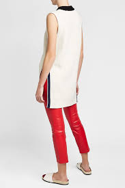 theory leather pants women red accessories
