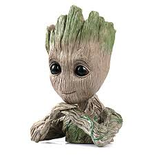 Tree Man Flower Pot Doll Model Desk Ornament Gift Toy - buy at the ...