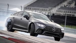 The extremely slim led tail lamps including dynamic turn indicator. 2019 Mercedes Amg Gt 4 Door Coupe First Drive Family Hauler