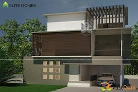 5000 Square Feet Triple Floor Contemporary Home Design