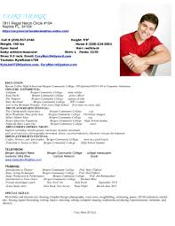 Acting Resume Skills Free Resume Example And Writing Download