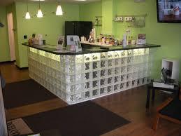 glass block furniture. Custom Made Glass Block Bar Furniture S