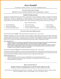12 Accounting Clerk Resume Buisness Letter Forms