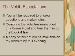 the veldt by ray bradbury ppt video online  2 the veldt expectations