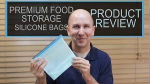 <b>Premium</b> Reusable Silicone Food <b>Storage Bags</b> | Product Review 9 ...