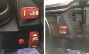 custom rocker switch actuator rocker switch pros 5 out of 5 2016 honda pioneer 1000 5 deluxe sxs switches