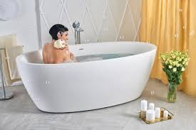 freestanding stone bathtub. aquatica sensuality-wht freestanding solid stone surface bathtub - gorgeous tub i