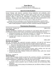 Operations Manager Resume Examples Operations Manager Resume Sample ...