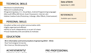 Best Resume Format Pdf India Fishingstudio Com