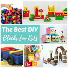 every kid should have at least one good set of building blocks these diy blocks