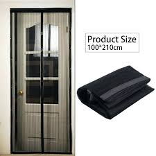 mesh curtains black summer magnetic mosquito net anti door tulle window screen automatic closing insect for mesh curtains