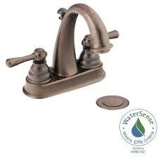 moen brantford bathroom faucet bronze