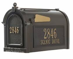 Decorative Mail Boxes Decorative Rural Mailboxes Residential Mailbox 75