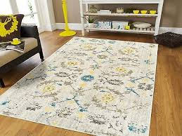 distressed area rugs 8x10 cream yellow blue rug 5x7 living room rugs runner 2x8