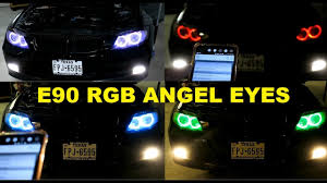 Rgb Angel Eyes On My E90 For That Lci Look